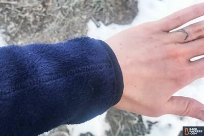 Patagonia-R2-review-fleece-sleeves