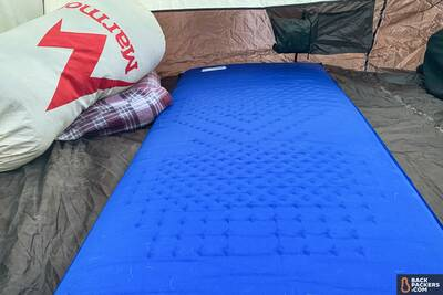 Therm-a-Rest Luxury Map review fully inflated luxury map