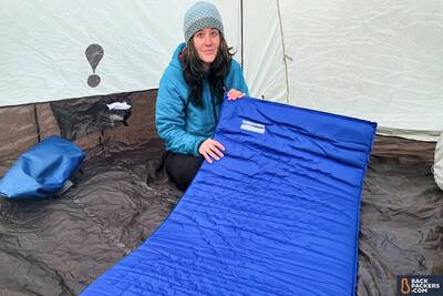 Therm-a-Rest Luxury Map review inflating