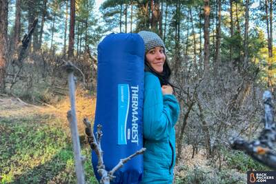 Therm-a-Rest Luxury Map review worn