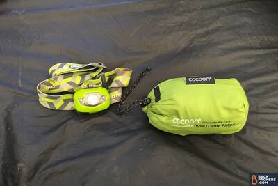 best-backpacking-pillows-Cocoon-Air-Core-Pillow-pack-size-comparison