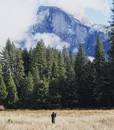 Hikes in Yosemite National Park half dome 1