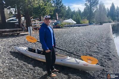 Rab-Microlight-Alpine-review-kayaking-takeoff