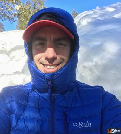 Rab-Microlight-Alpine-review-selfie
