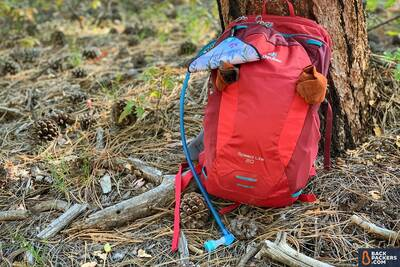 best day packs for hiking Deuter-Speed-Lite-20-review-packed-up-on-the-trail