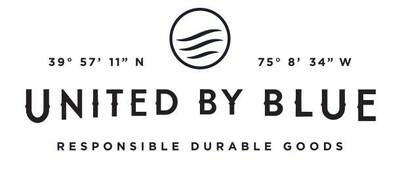 rei sustainability feature united by blue logo