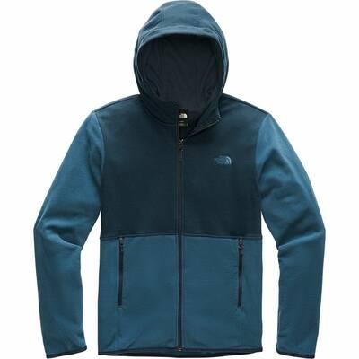 The North Face TKA Glacier Full-Zip Hooded Fleece Jacket