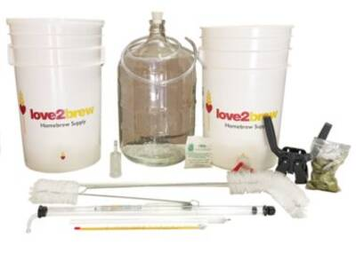 Love2Brew Complete Beer Making Kit
