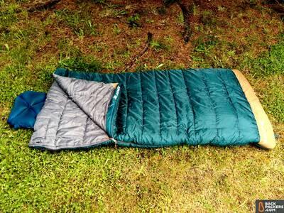 Kelty-Callisto-30-review-open-sleeping-bag