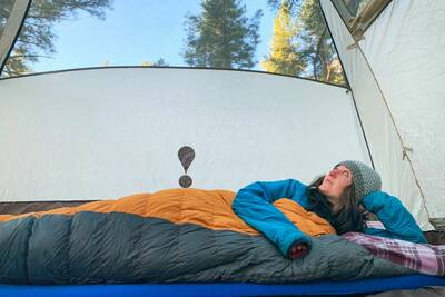 backpacking tips for side sleepers Therm-a-Rest Luxury Map review waking up