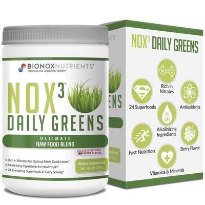 BIONOX NUTRIENTS NOX3 Daily Greens