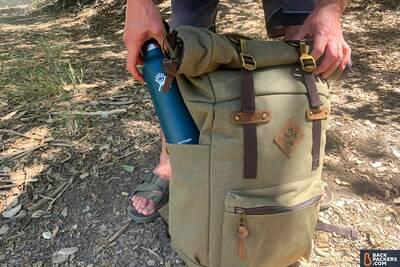Revelry-Supply-Drifter-Bag-water-bottle-pocket