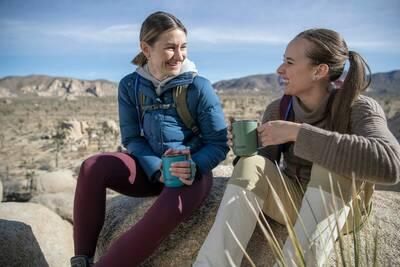 CamelBak Horizon collection mugs outdoors