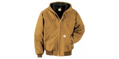 Carhartt Quilted Flannel-Lined Duck Active Jacket