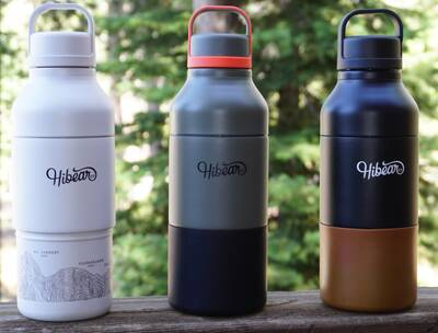 HiBear Design Co all-day adventure flask 3 Colors