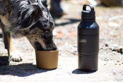 HiBear Design Co all-day adventure flask boot