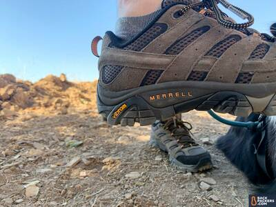 Merrell-Moab-2-Ventilator-logo-straight-on