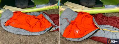 2-1-Ignik-Heated-Sleeping-Bag-Liner-partly-zipped-up