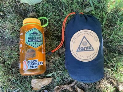 Ignik Heated Sleeping Bag stuff sack size