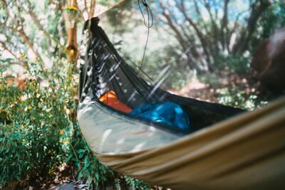 hammock gear hammock closeup