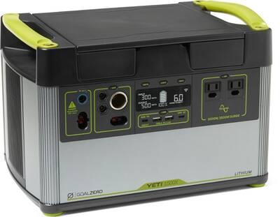 Goal Zero Yeti Lithium 1500X Portable Power Station