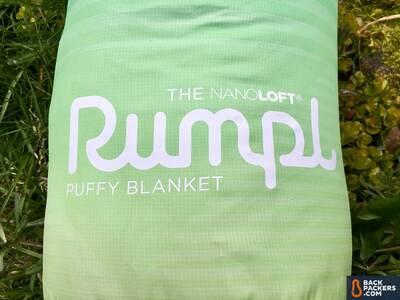 Rumpl NanoLoft Blanket Face