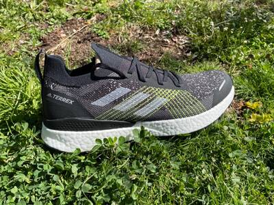 Adidas Terrex Two Ultra Primeblue Trail Running Shoes uppers