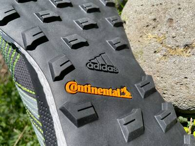 Adidas Terrex Two Ultra Primeblue Trail Running Shoes Continental Lugs