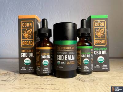 Cornbread Hemp CBD Oils and Balms