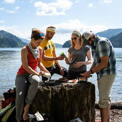 Chef Corso Backcountry Cooking Workshop