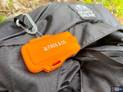 Frog and CO Tough Tesla Lighter backpack
