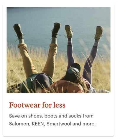 REI Anniversary Sale Footwear