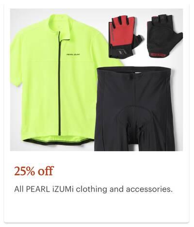 REI Anniversary Sale Pearl iZUMi