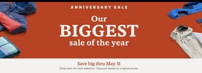 REI Anniversary Sale 2021