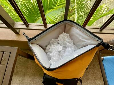 Backpack Cooler Ice