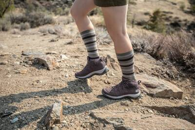 Hiking in Flash Boots