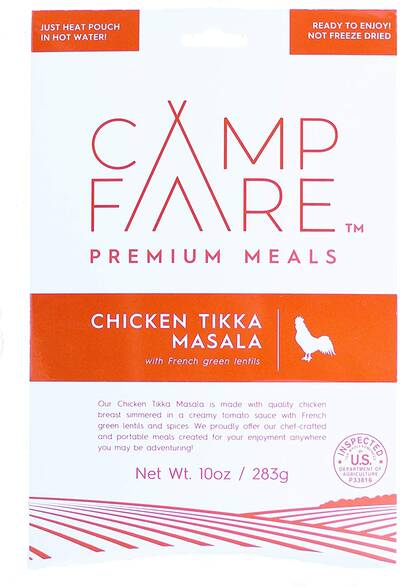 CampFare Ready to Eat Camping Meals