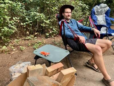 Table at Camp